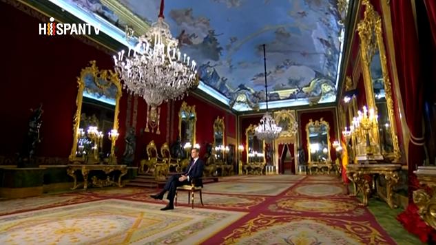 El rey en el Palacio