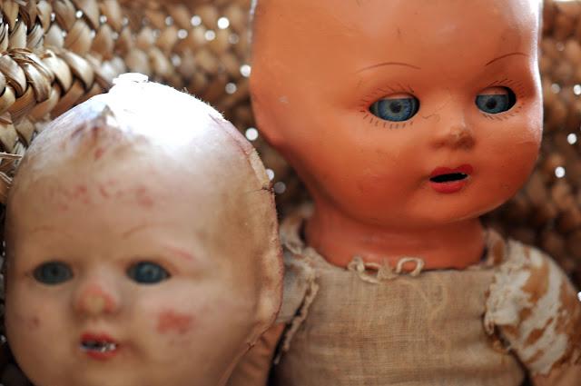 poupons anciens jouets de collections