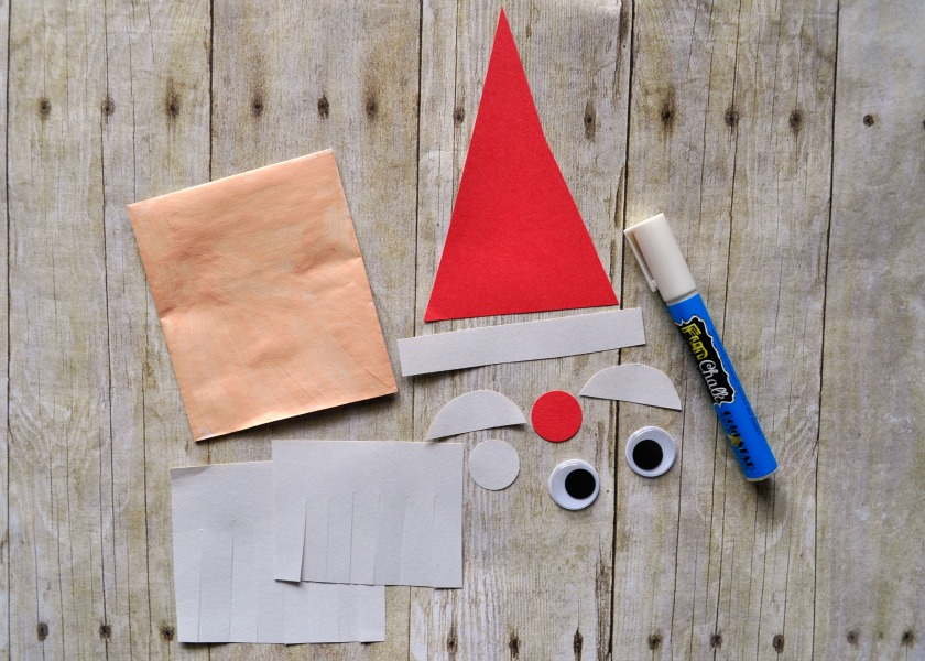 simple and fun santa envelope puppet i heart crafty things