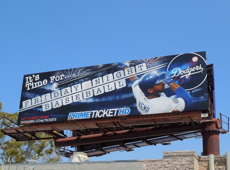 Dodgers Friday Night baseball billboard