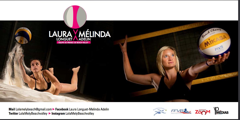 Laura Longuet et Mélinda Adelin / © YVES PERRET / LAURENT SALINO / AGENCE ZOOM