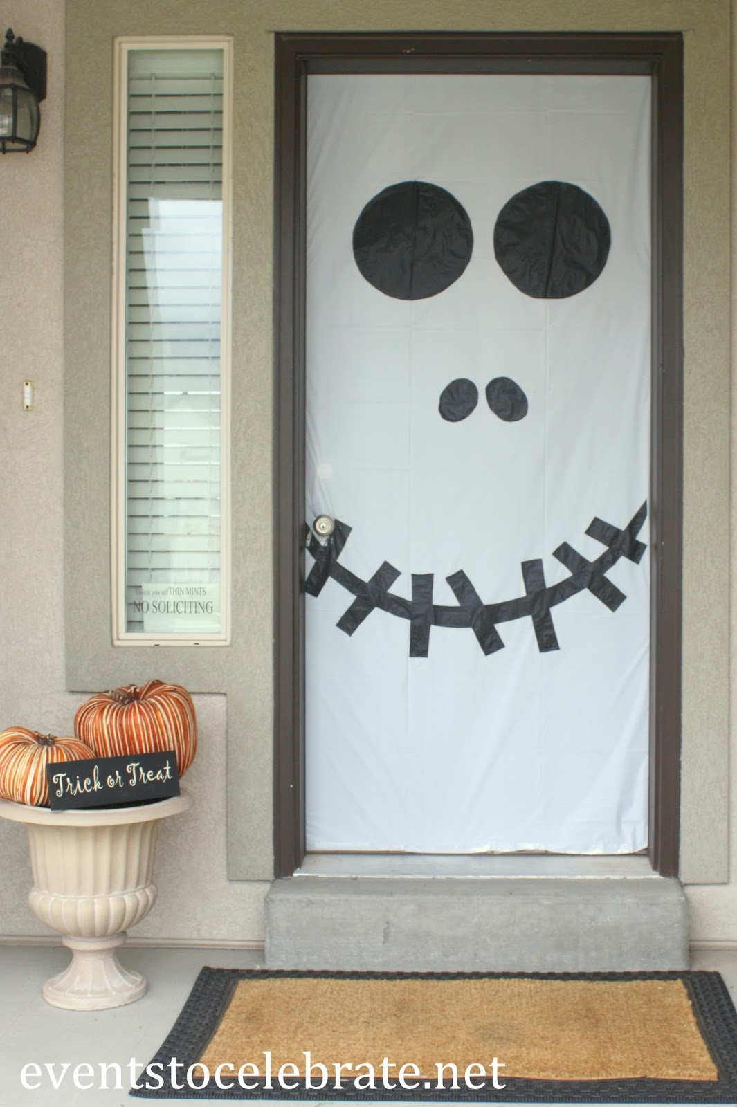 Halloween decoraci n puertas de miedo - Decoracion para halloween ...