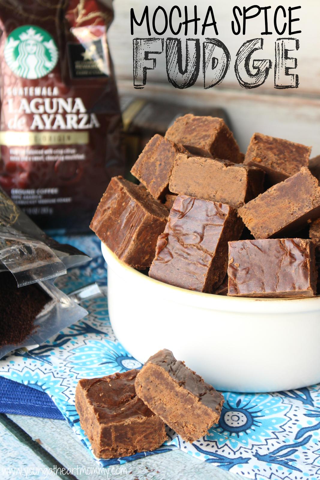 Mocha Spice Fudge recipe using Starbucks Single Origin Coffee Blends