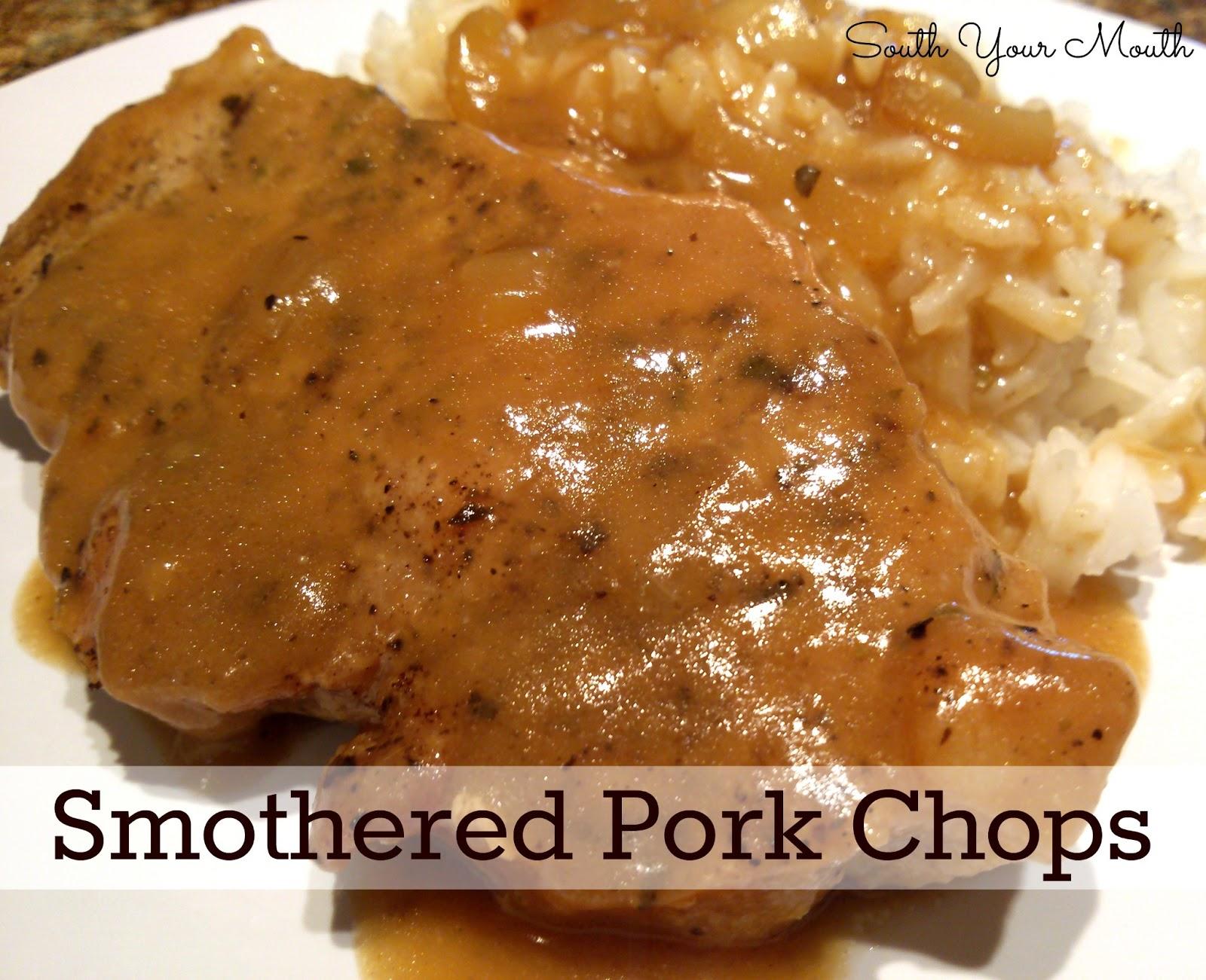Fried pork chop recipe without flour
