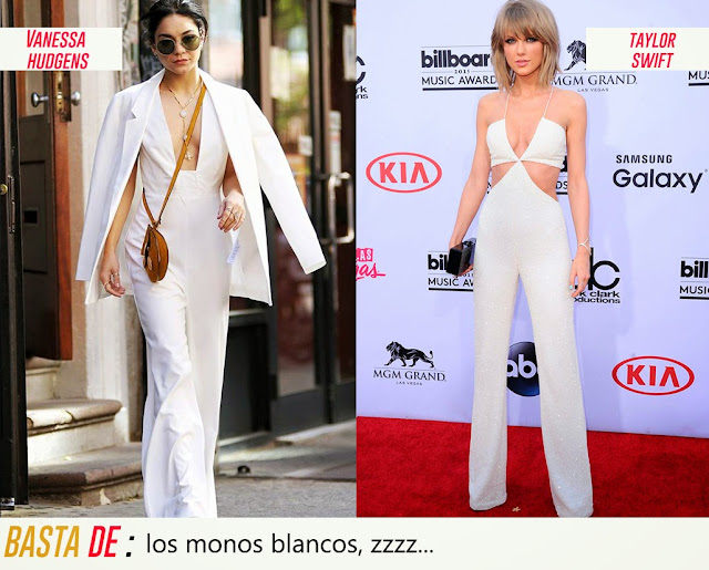 vanessa hudgens taylor swift mono blanco total white