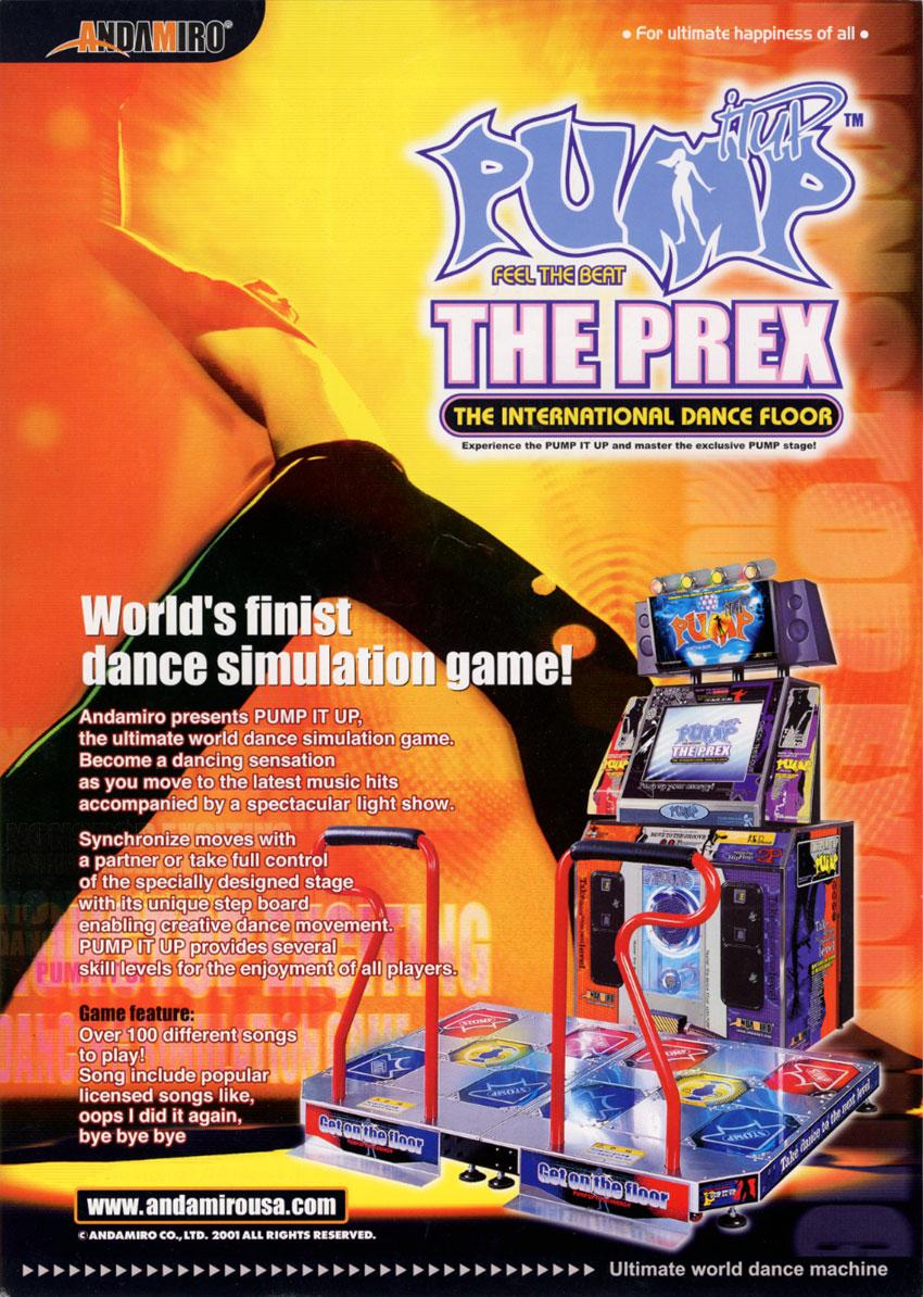 desde que version de pump it up empezaste a jugar? PREX+front
