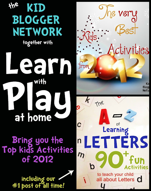 Very best kids activities from 2012 including our top post of the