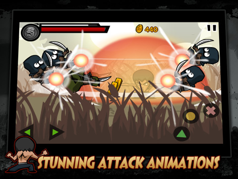 Green-Poison:-KungFu-Warrior-iPad,-an-Action-Game-and-Martial-Arts