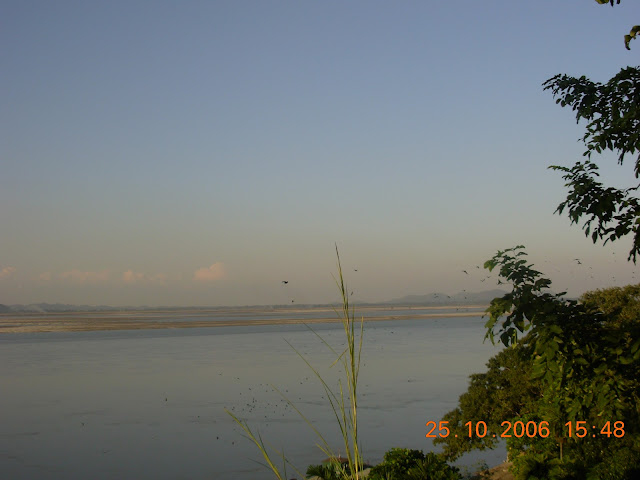 View of the Brahmaputra from the Dolphin Park