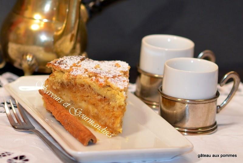 Gâteau aux Pommes Polonais.  Szarlotka Sypana. .