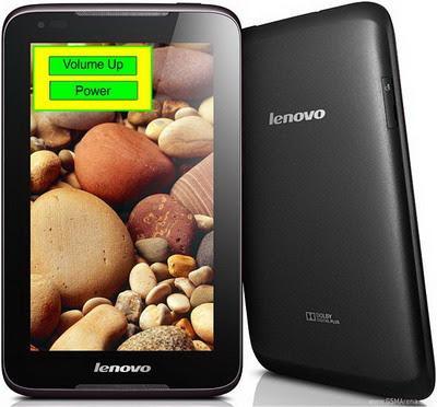 Cara Reset Lenovo Idea Tab A1000-G