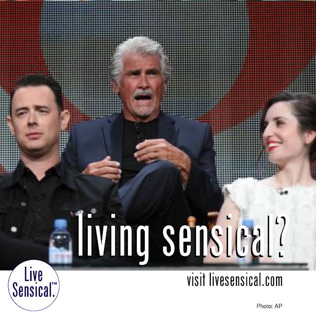 "James Brolin (knows to livesensical.com?) says wife Barbra Streisand is delighted with his new Life in Pieces role, ""'Oh, boy, great. Go to work!Get out of the house, get out of the hammock.'"" The half-hour series' ensemble cast also includes Dianne Wiest, Zoe Lister-Jones, Colin Hanks and Betsy Brandt."