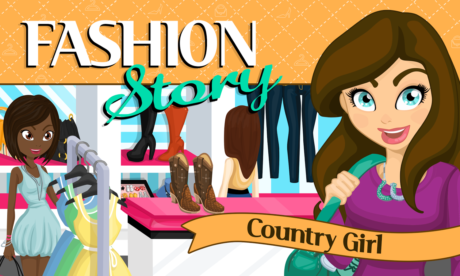 Fashion Story Cheats For Android Fashion Story Country Girl