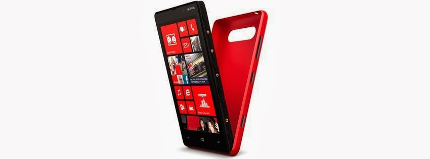 Belle couverture facebook lumia rouge