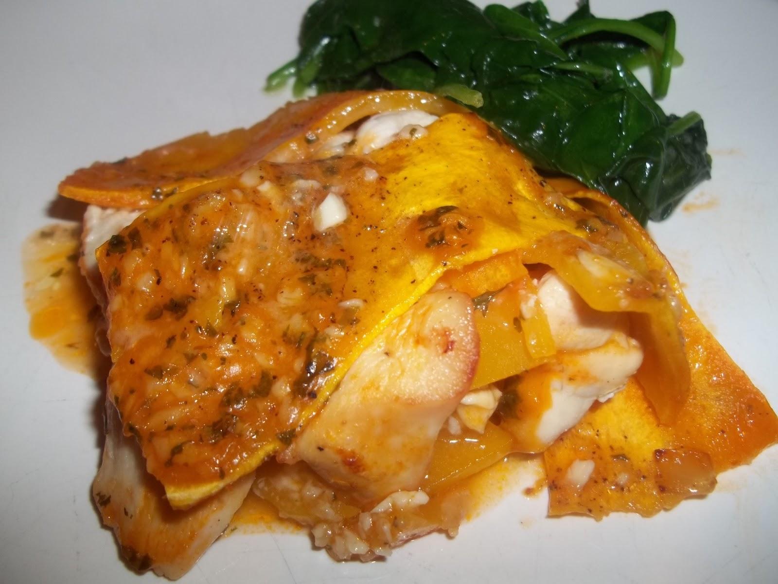 Busy Paleo Mom: Garlic Chicken Butternut Squash Lasagna