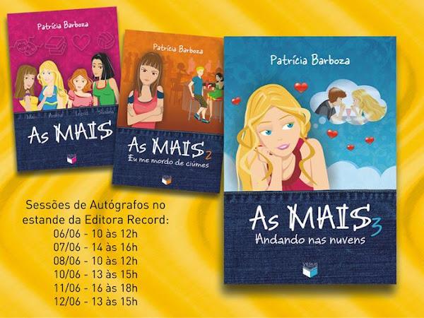 Patrícia Barboza e As MAIS no 15º Salão FNLIJ do Livro no Rio de Janeiro, Grupo Editorial Record