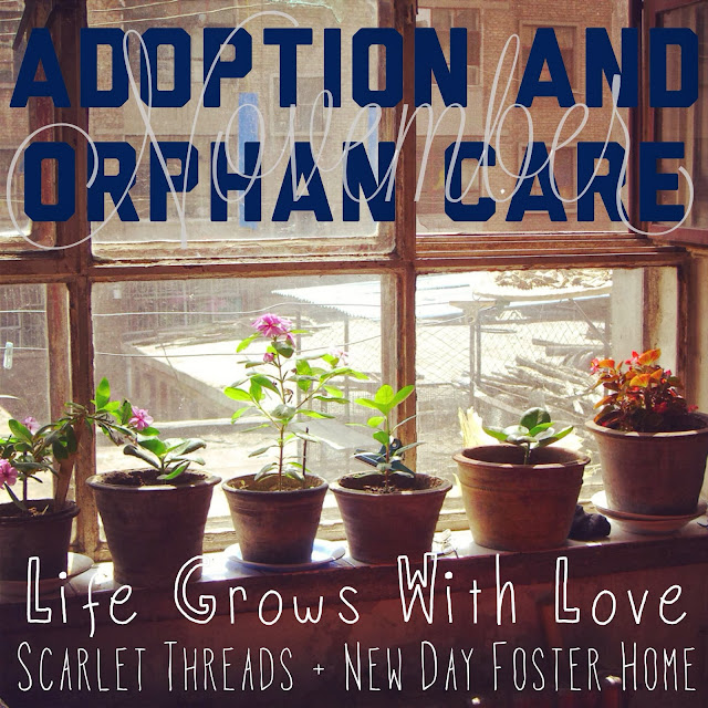 #STOrphanCare & Adoption Month