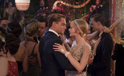 The Great Gatsby Leonardo DiCaprio as Jay Gatsby & Carey Mulligan as Daisy Buchanan
