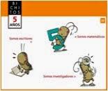 BICHITOS 5: REPASO INTERACTIVO DE INFANTIL 5 AÑOS