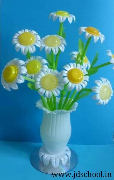 Make A Beautiful Flower Pot From Waste Plastic Bottle
