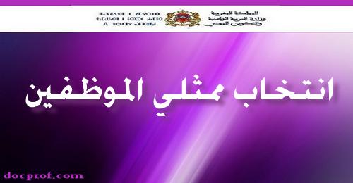 بلاغ في شأن عملية انتخاب ممثلي الموظفين في اللجان الإدارية المتساوية الأعضاء (اقتراع 03 يونيو 2015)