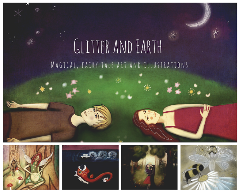 Glitter and earth