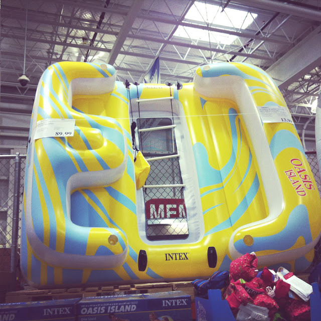 blow up inflatable at costco