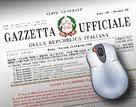 La Gazzetta Ufficiale della Repubblica Italiana.