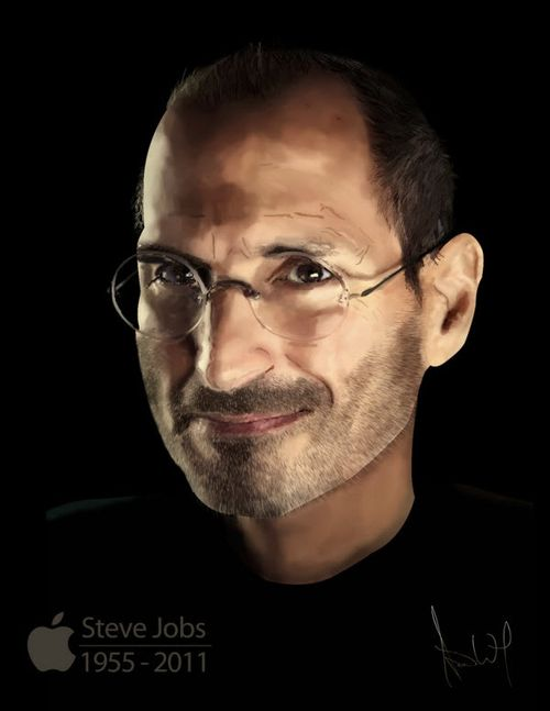 40 Lukisan Steve Jobs yang Mengagumkan: Inspirational Person