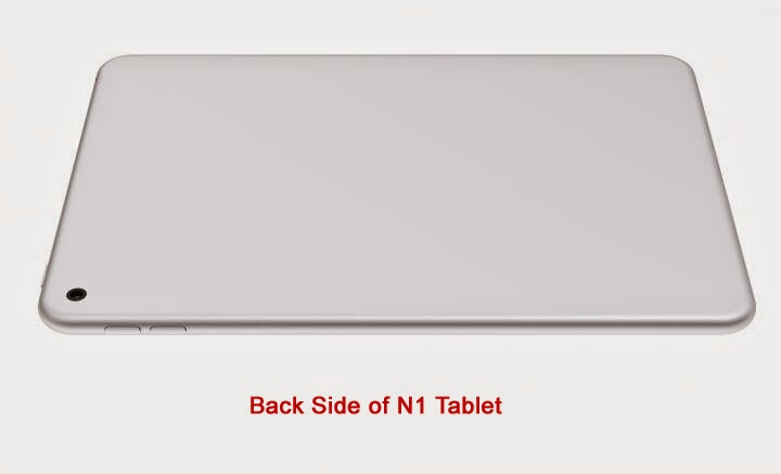 Nokia N1 Android Tablet - Back Side