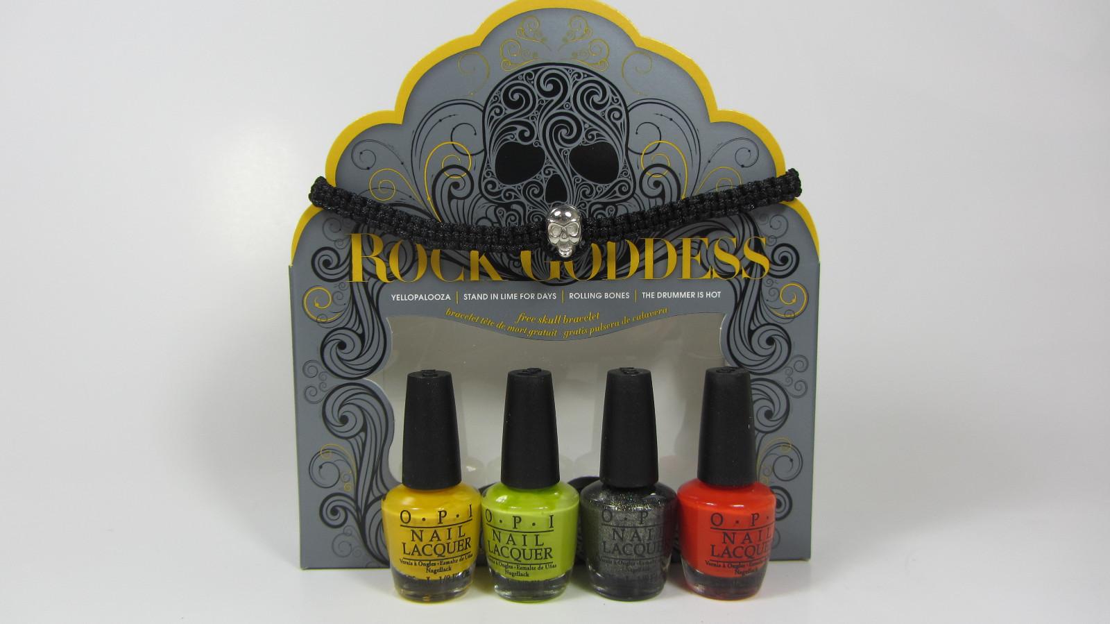 Fashion week Opi goddess rock halloween nail polish collection for lady