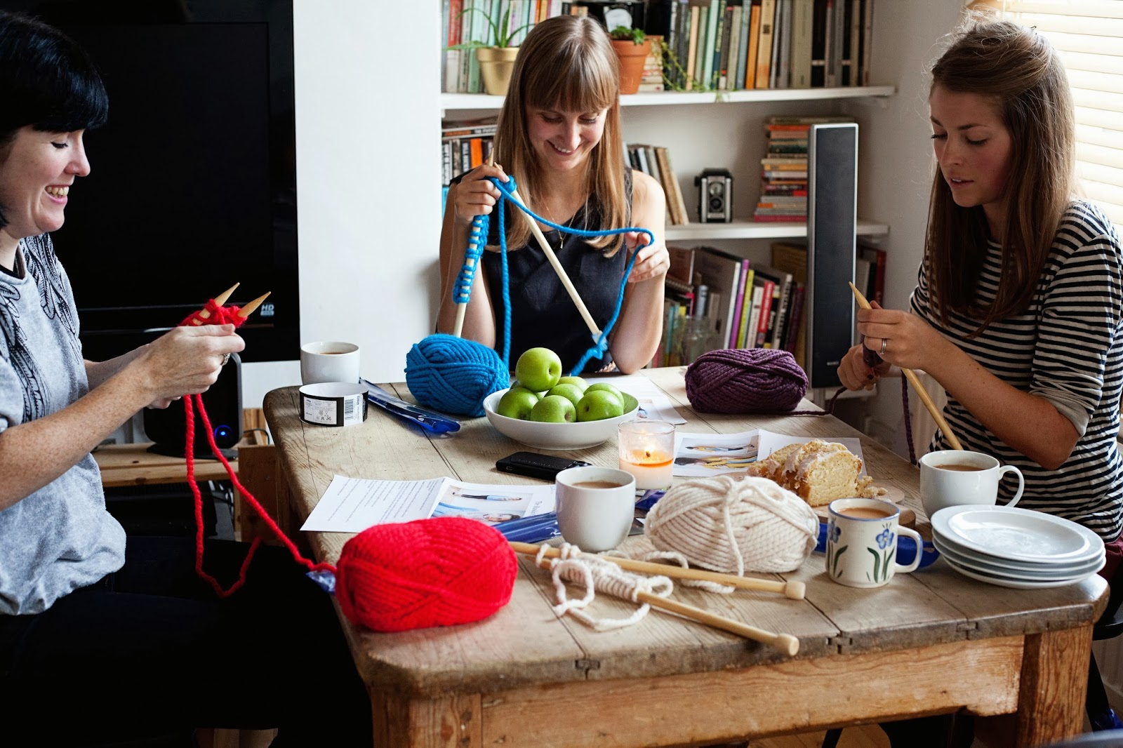 Knitting Classes : Bless The Weather: Learn to knit class