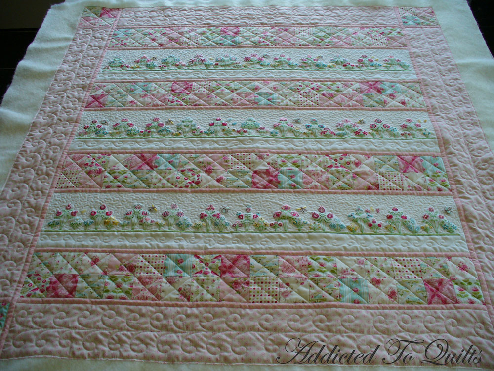Addicted To Quilts Pretty Embroidery