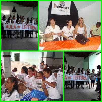 Lançamento do Jornal Antenados no Saber