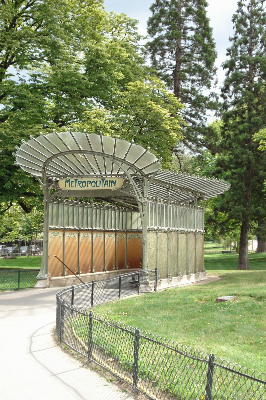 Paris on th me art nouveau hector guimard - Portes ouvertes paris dauphine ...