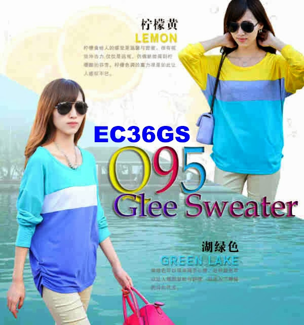 BAJU GLEE SWEATER EC36GS