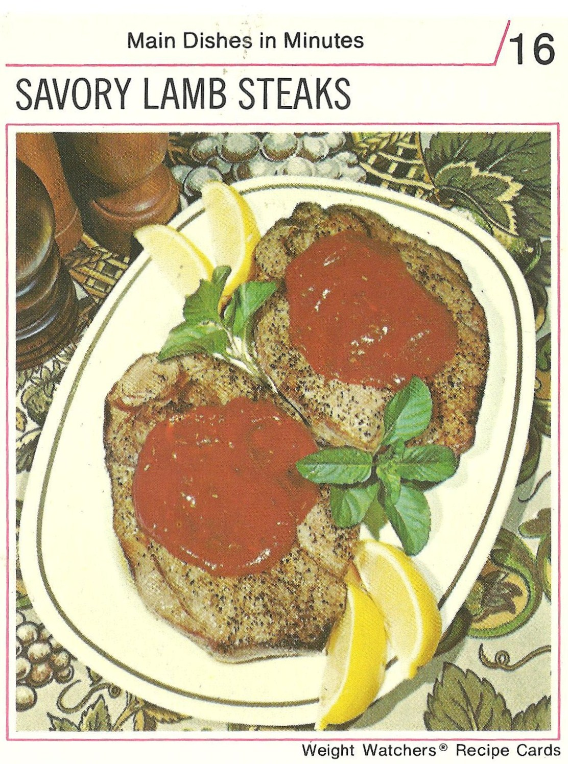 Bad and ugly of retro food ready to talk about food again recipe who would have thought lamb steaks could be savory douse them in what amounts to be catsup not ketchup and you too will reap the savory tidbits forumfinder Gallery