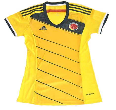 Jersey Ladies Kolombia WC Home 2014