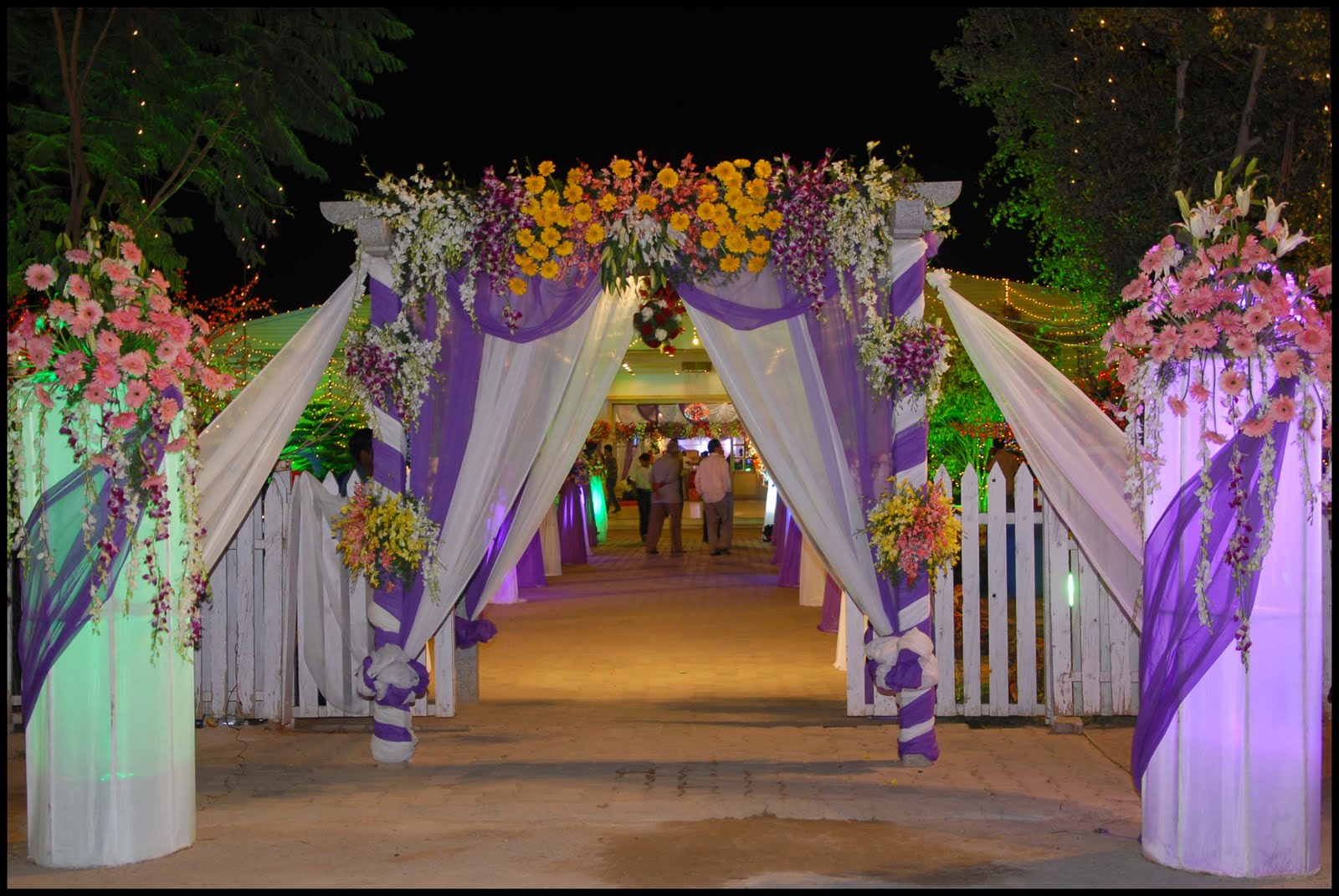 Art decorator marriage decorations for Decoration flowers