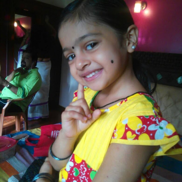 Baby Akshara -Child actress in Karuthamuthu Serial