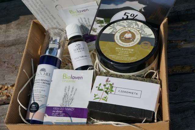 Naturalnie z pudełka edycja sierpniowa, czyli box naturalnych kosmetyków