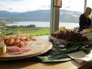 View from Poplar Grove Winery in Penticton BC