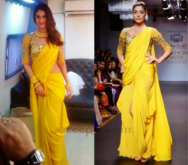 LAKME FASHION WEEK SAREE SHOW