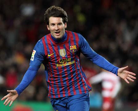 goles de Messi FC Barcelona