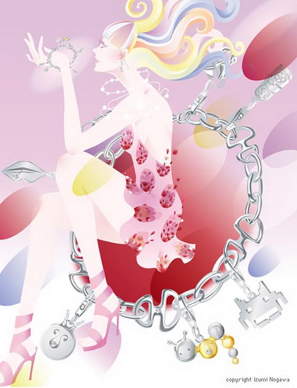 Izumi Nogawa.  Illustrations. Doctor Ojiplático