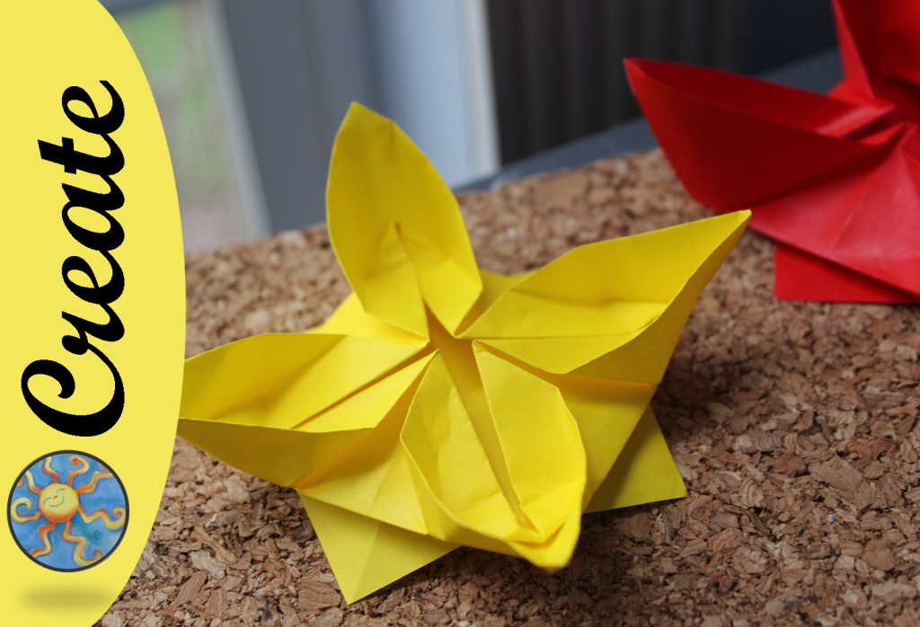 How To Make An Origami Flower Water Lily