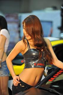 Park Si yeon Korean Actress In 2010 Korea Tuning Show 2