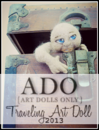 Traveling Art Doll 2013 - ADO