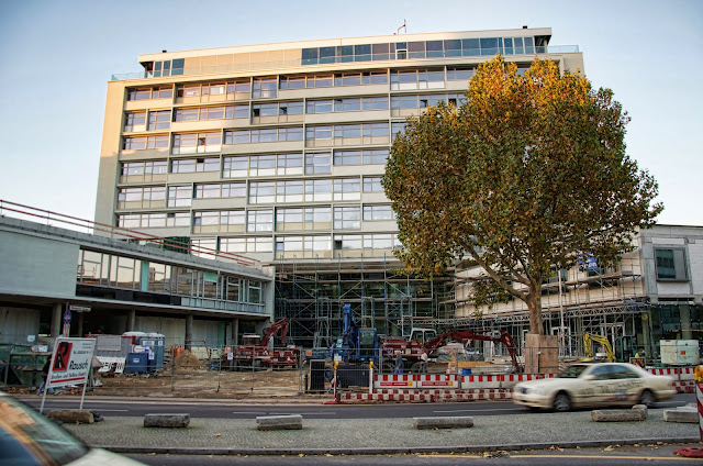 Baustelle Hotel Bikini, Budapester Straße, 10787 Berlin, 24.10.2013