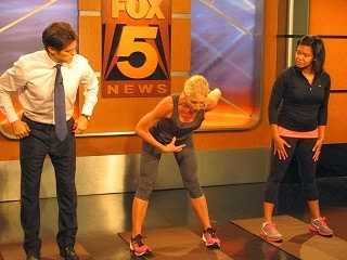 Getting Fit with Dr. Oz on Fox 5 Atlanta